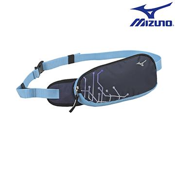33TM600714(深藍) 運動用(加大)護翼型腰包 【美津濃MIZUNO】