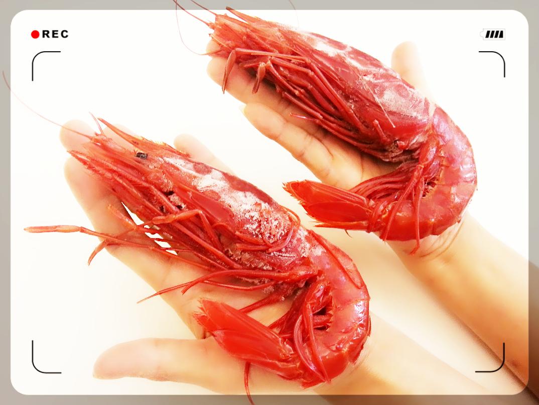 【雞籠好魚】大胭脂蝦(600g+-5%/1包,約9-13隻)★海中的紅寶石之稱★手掌般大的大胭脂蝦★