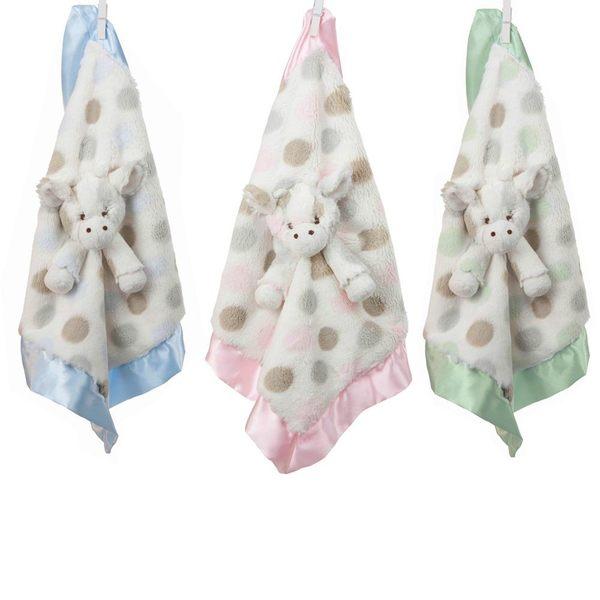 美國小長頸鹿 Little Giraffe -嬰兒安撫巾 (LXDBLG Little G Blanky)【藍色】