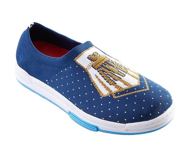 【F-KNIT時尚】4月雜誌款 墜子 淑女編織休閒鞋