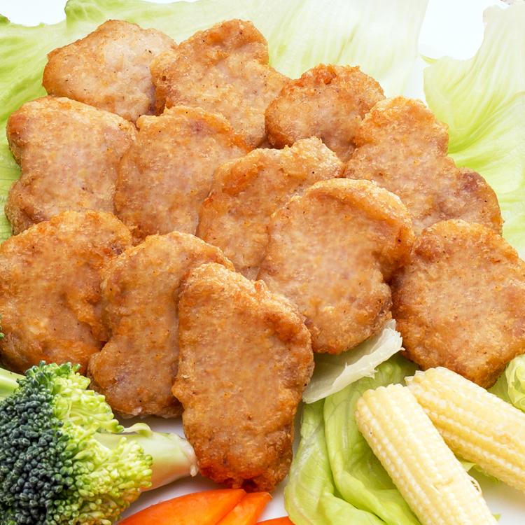 限時免運!!!特A雞塊 冷凍(1000g/包,約50塊)      ❤小朋友的放學後點心❤加熱即食方便好吃❤