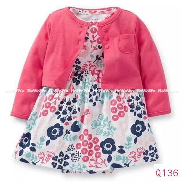 長袖套裝 短袖裙兔裝+小外套二件式套裝 LZ12123