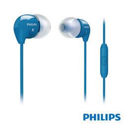 【迪特軍3C】PHILIPS 飛利浦 SHE3595 手機用耳塞式耳麥 藍色