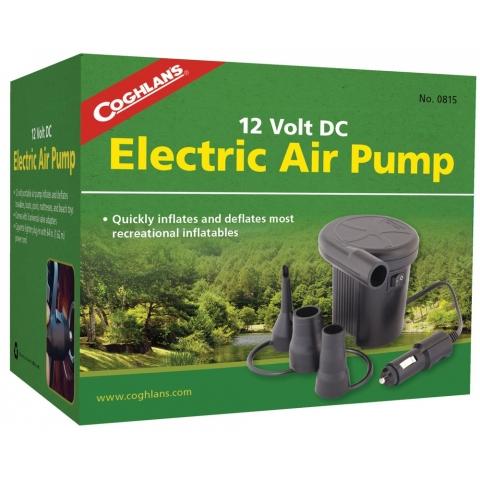 【露營趣】中和 加拿大 Coghlans 0815 12V車充電動充氣幫浦 充氣馬達 充氣床用