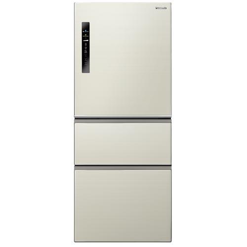【感恩有禮賞】Panasonic 國際 NR-C508NHV-L 香檳金500L 無邊框三門冰箱 ECONAVI 智慧節能科技