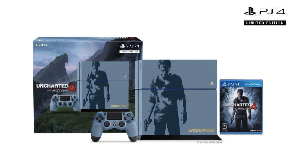 現貨供應中 公司貨 一年保固   [PS4主機] PS4 秘境探險 4:盜賊末路 特殊主機同捆組