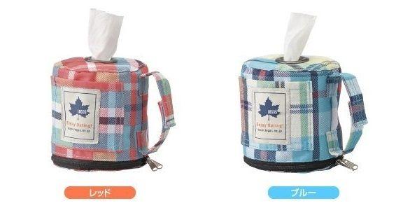 LOGOS 日本 | 愛麗絲格紋面紙袋(紅) | 秀山莊(LG73189009)