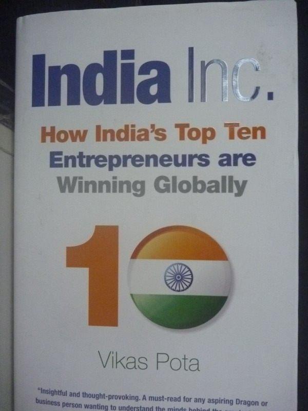 【書寶二手書T3/財經企管_ZCS】India, Inc.: How Indias Top