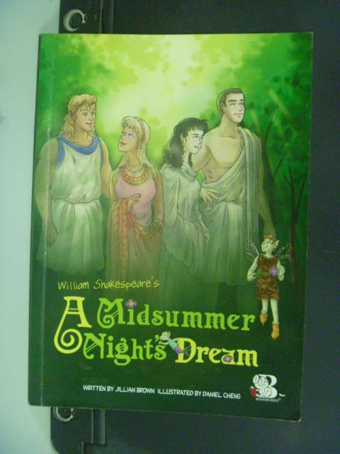 【書寶二手書T1/語言學習_OLL】 A midsummer night's dream_Jillian Brown作_無光碟
