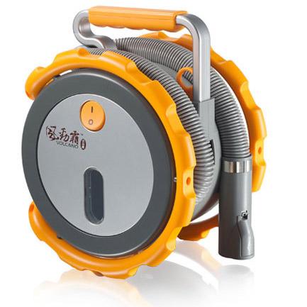 【VOLCANO大力士】乾濕兩用-超強吸力-時尚便攜式車用吸塵器【VC800】
