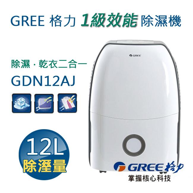 【現貨】GREE 格力 1級效能除濕機12公升 GDN12AJ