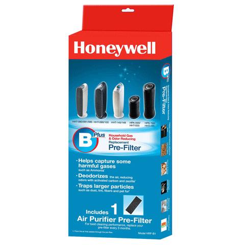 【Honeywell】CZ 除臭濾網(HRF-B1) 2 盒