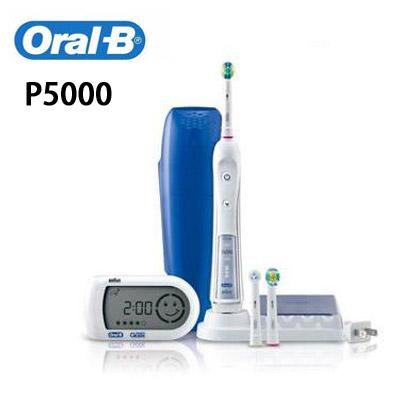 「Oral-B 歐樂B」3D極淨導航電動牙刷 P5000 【德國製】
