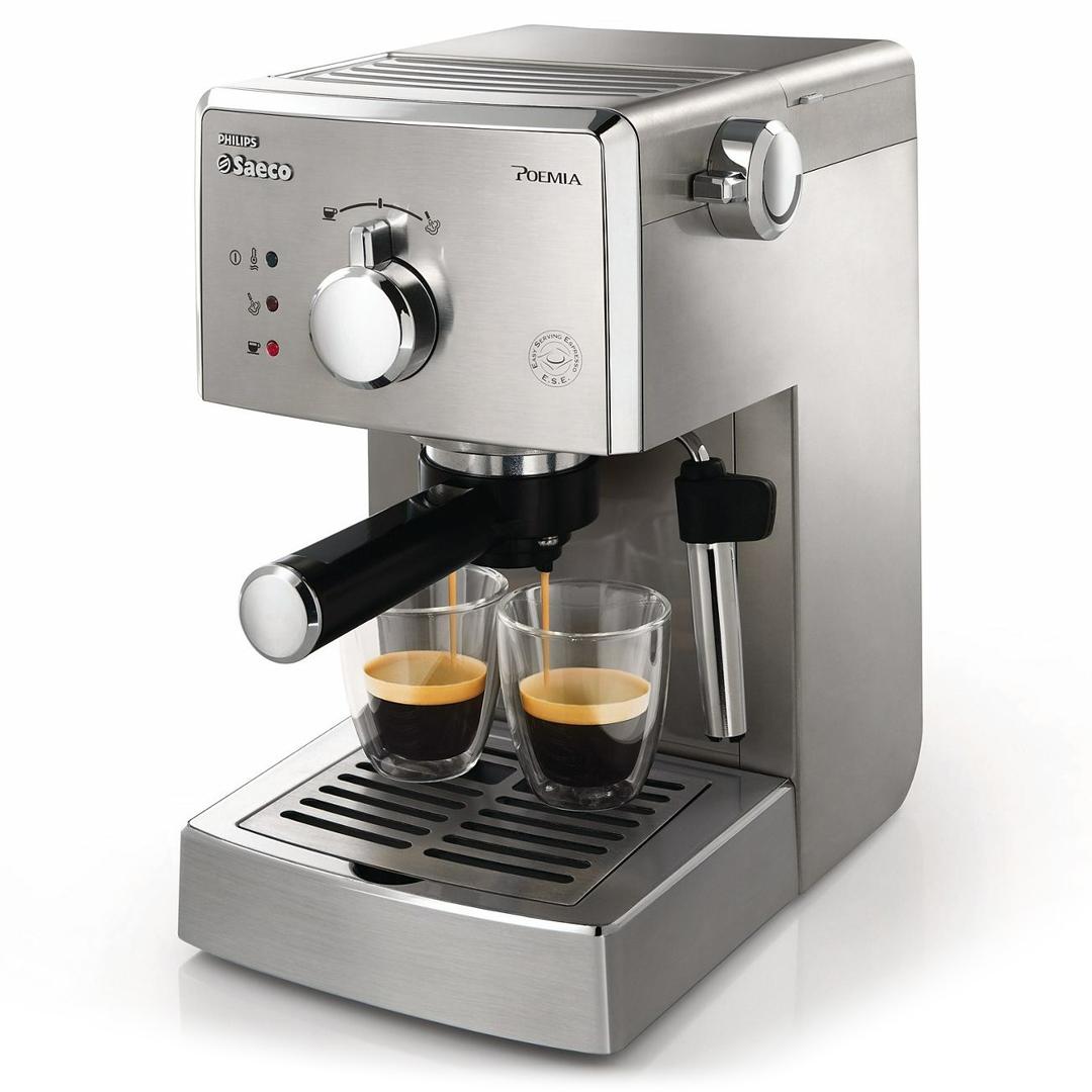 PHILIPS 飛利浦Saeco POEMIA家用半自動義式咖啡機HD8327