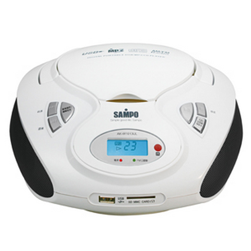 AK-W1013UL 聲寶SAMPO CD/MP3/USB/SD手提音響