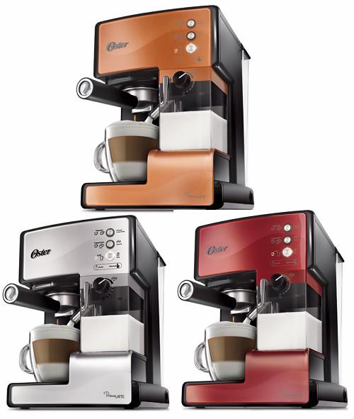 【送伊萊克斯電茶壺EEK6603S*1】美國 OSTER 奶泡大師義式咖啡機 BVSTEM6601【銅色限定】
