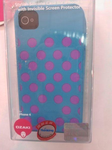 [NOVA成功3C] 福利品清倉大拍賣 OZAKI IPHONE iPHONE 4 保護殼, 數量有限, 要買要快!  喔!看呢來