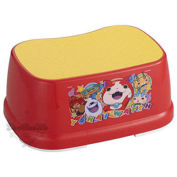 妖怪手錶浴室洗澡椅小椅子紅104756海渡
