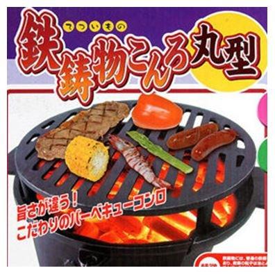 【露營趣】中和 日本 ONOE 尾上鉄鋳物こんろ丸型圓爐 鑄鐵鍋爐 燒烤爐 BBQ烤肉架 荷蘭鍋爐 木炭暖爐 圍爐 CI-1606