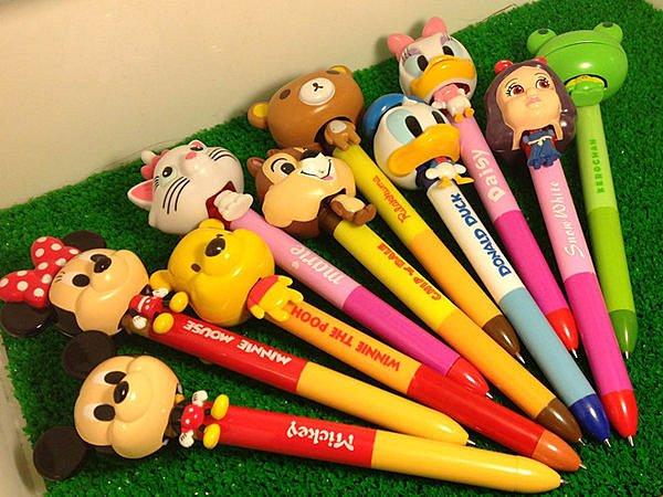 =優生活=((出清特價))迪士尼大頭筆 米奇 米妮 維尼 拉拉熊 唐老鴨 松鼠 青蛙 瑪麗貓 原子筆