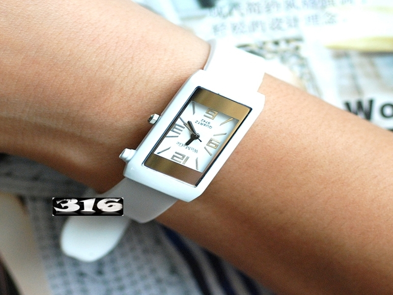 《316小舖》【PG04】(時尚石英手錶-潮流方錶-單件價 /男生手錶/女生手錶/生日禮物/聖誕節禮物/耶誕節禮物/韓版手錶/男女手錶)