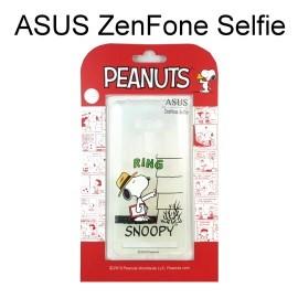 SNOOPY 透明軟殼 [RING] ASUS ZenFone Selfie ZD551KL 史努比【台灣正版授權】