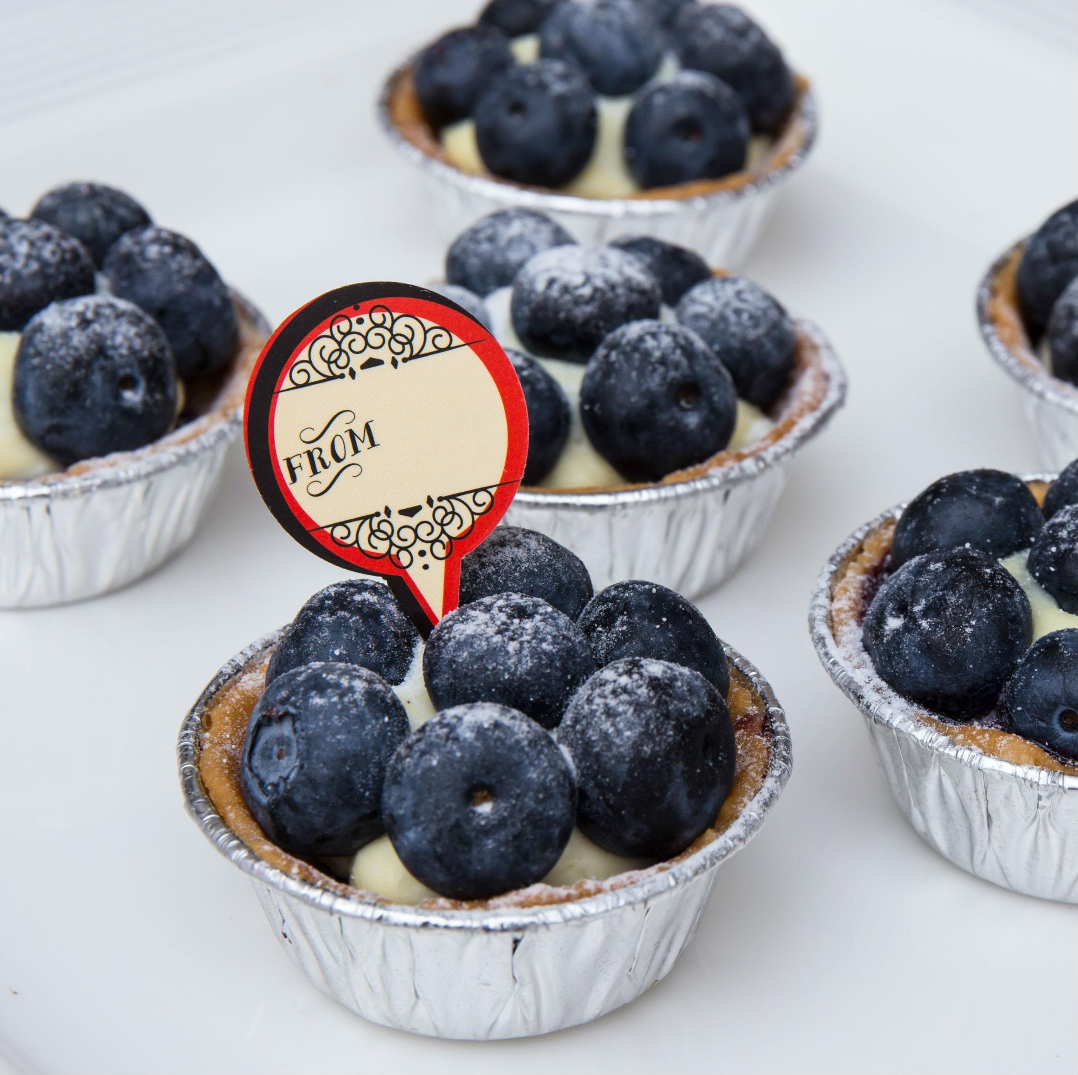 迷你藍莓塔 12入 暖暖der甜點工作坊