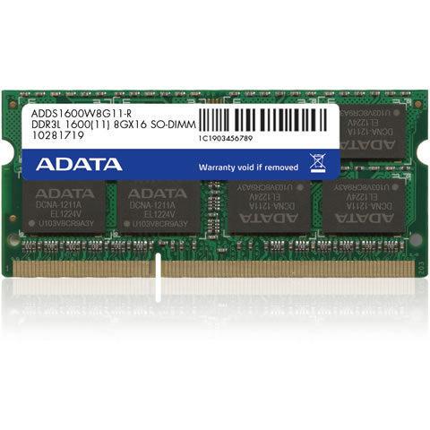 *╯新風尚潮流╭*威剛筆記型記憶體 8G DDR3-1600 穩定性高 1.35V 終保 ADDS1600W8G11-R