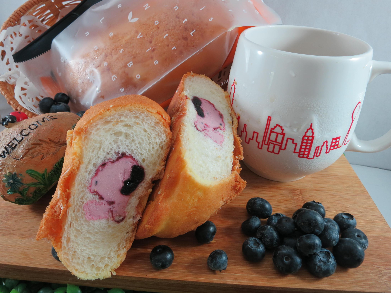 【Bliss Castle】首創灌飽包#爆漿麵包#藍莓(四入一盒)#下午茶#夏日野餐趣#多種吃法#