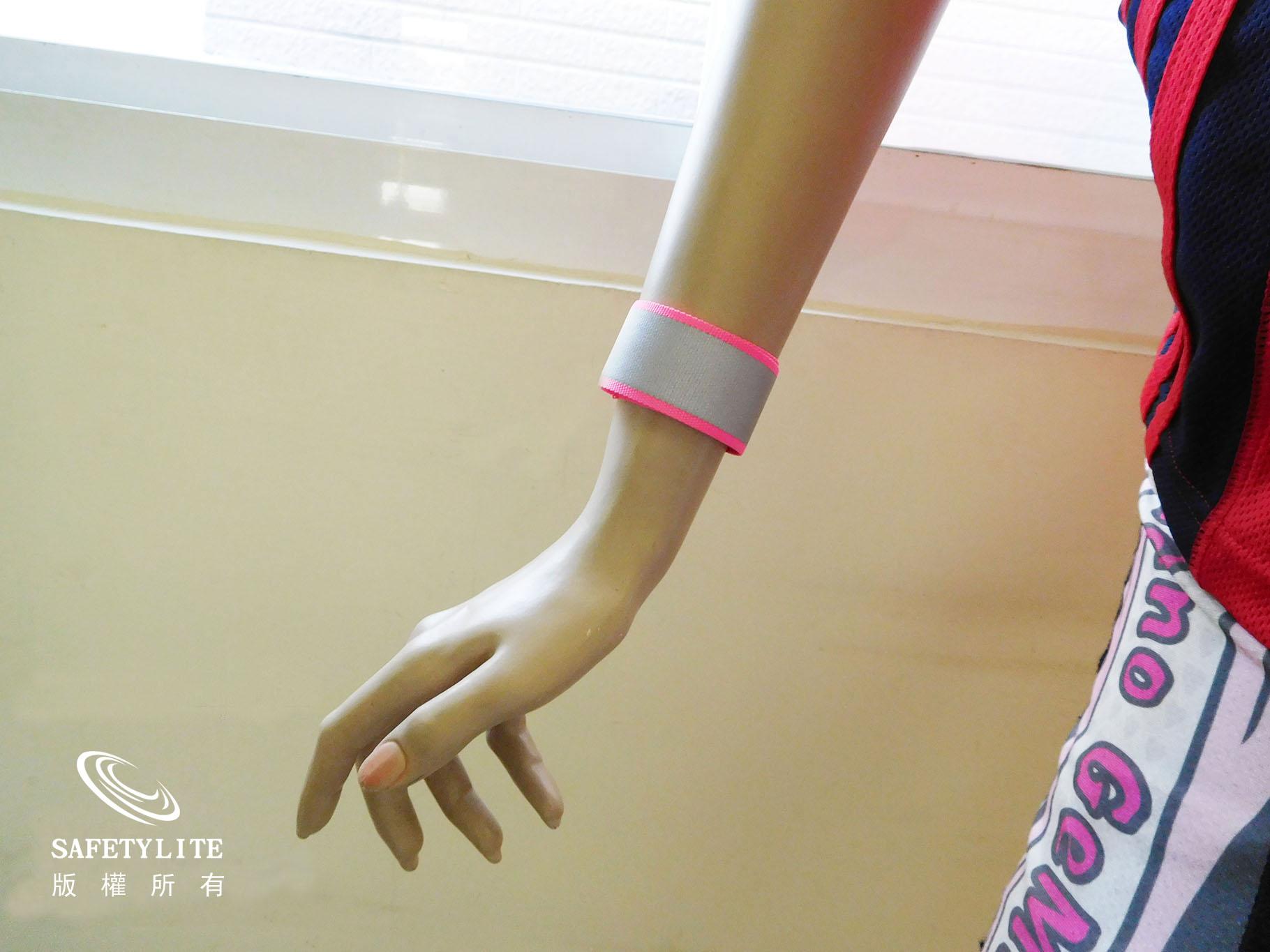 【safetylite安心生活館】《滿額免運.贈禮.加line折百》一拍即合反光織帶手腕帶/迷人閃耀/男女皆適合/街跑百搭-3M Scotchlite™