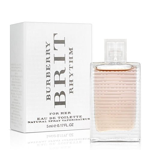BURBERRY BRIT RHYTHM WOMAN搖滾女性淡香水 5ML ☆真愛香水★