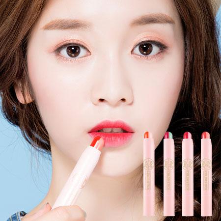 韓國 A'PIEU 雙色唇膏 2.3g 唇彩 口紅 咬唇妝 A pieu APIEU 奧普【B062344】