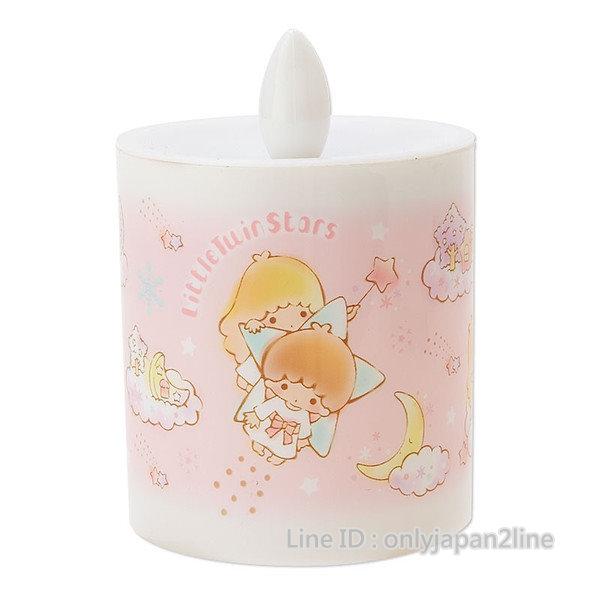 【真愛日本】16112500003蠟燭室內燈-TS雲朵  三麗鷗家族 Kikilala 雙子星  夜燈  小燈 照明