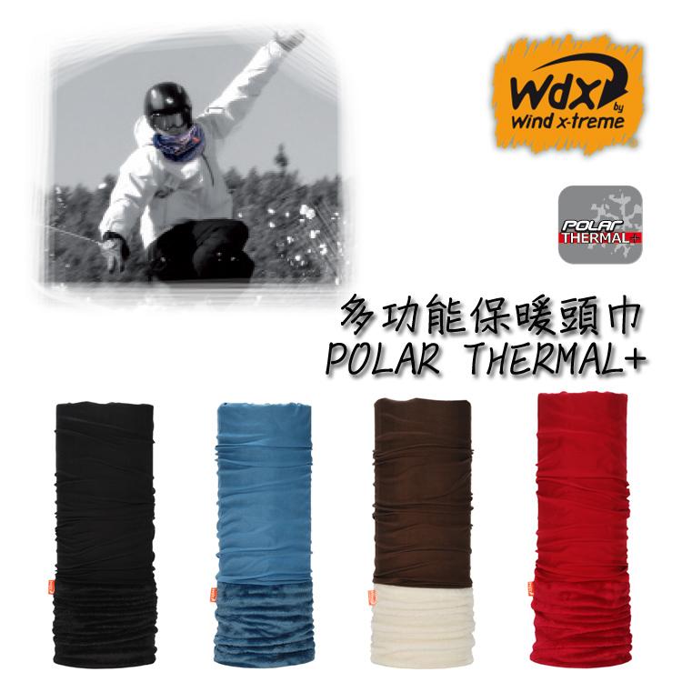 【2016年新款】Wind x-treme 加強型保暖多功能頭巾 POLAR THERMAL+/城市綠洲(保暖佳、圍領巾、西班牙)