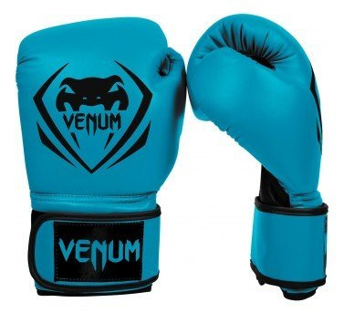 Boxing VENUM 初級拳擊手套禮物版~VENUM訓練用拳套-初級入門訓練拳套-寶石藍