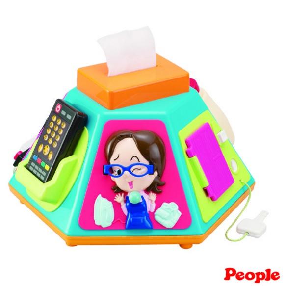 People新超級多功能七面遊戲機 益智玩具【六甲媽咪】