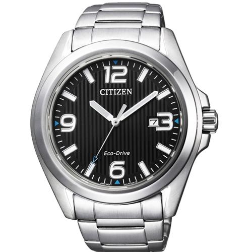 CITIZEN Eco-Drive 光動能紳士時尚腕錶/AW1430-51E