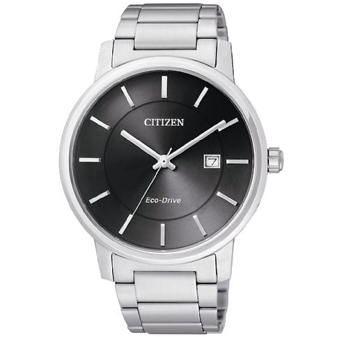 CITIZEN星辰BM6750-59E簡約風雅光動能腕錶/黑面40mm