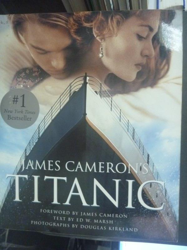 【書寶二手書T1/影視_QYD】James Cameron's Titanic_Kirkland, Douglas