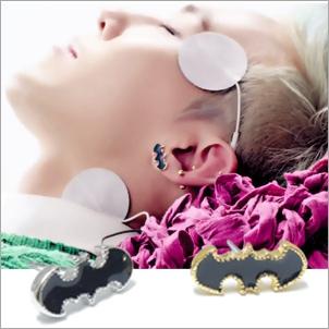 BIGBANG 權志龍 同款韓國유니크배트맨蝙蝠俠造型耳釘耳環 (單支價)