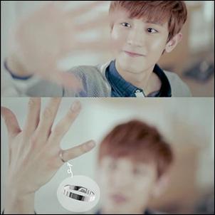 EXO Chanyeol 同款韓國심플스텝 簡約圓環鈦鋼戒指