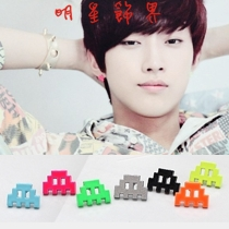 | Star World。Earring | B1A4 振永 同款糖果色積木造型耳釘耳環 (一對)