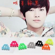 | Star World。Earring | B1A4 振永 同款糖果色積木造型耳釘耳環 (一對)