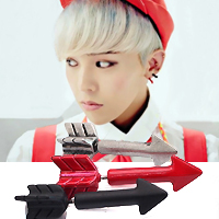 | Star World。Earring | BIGBANG 權志龍 同款彩色火箭造型耳釘耳環 (單支價)