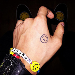 BIGBANG 權志龍 同款NAMASTE骰子彩色手繩手環