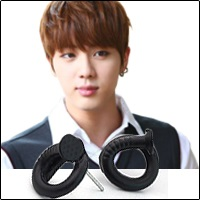 | Star World。Earring |  BTS Jin 同款捲曲釘子造型耳釘耳環 (單支價)