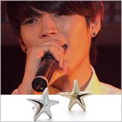   Star World。Earring   INFINITE 南優鉉 同款簡約海星造型耳釘耳環 (單支價)