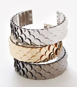 【 特價 】Team H 張根碩 同款多層次鱗片可調式手鐲手環