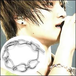 | Star World。Bracelets |  JYJ 金在中 同款無限曲線造型手鍊