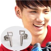 | Star World。Earring |  SHINee Key 同款開瓶器造型耳釘耳環 (單支價)